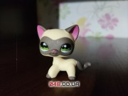 Фигурка Littlest pet shop Кошка стоячка сиамская, египетская