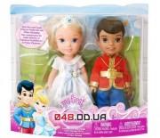 Игровой набор Jakks Pasific мини куклы тодлеры Золушка и прекрасный принц