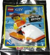 LEGO City Парень на скутере (952008)