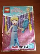 LEGO минифигурка принцесса Дисней Золушка с расческой