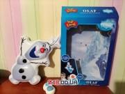 Большой ночник-снеговик Олаф Frozen музыка, свет холодное