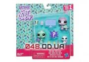 Игровой набор Littlest Pet Shop Семья черепашек (E1013)