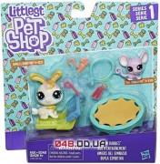 Игровой набо Littlest Pet Shop Тренажерный зал кролик и мышка (C2100)