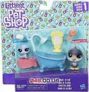 Игровой набо Littlest Pet Shop Веселое купание пингвин и тюлень (C0046)
