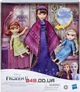 Игровой набор Hasbro Королевская семья: мама Идуна, куколки-малышки Анна и Эльза