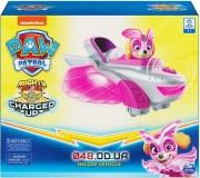 Игровой набор Spin master Скай на самолете с розовыми крыльями, звук. и свет (серия Супер щенки)