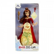 Премиум кукла Дисней Бель, играет музыка и светится платье