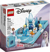 LEGO Disney Princesses Книга сказочных приключений Эльзы и Нока (43189)