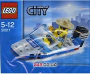 LEGO City Полицейский катер (30017)