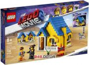 The LEGO Movie Дом мечты Эммета / Спасательная ракета! (70831)