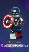 LEGO Minifigures Marvel Studios Зомби Капитан Америка (71031_9)