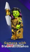 LEGO Minifigures Marvel Studios Гамора с клинком Таноса (71031_12)