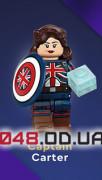 LEGO Minifigures Marvel Studios Зомби Капитан Картер (71031_10)