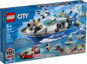 LEGO City Полицейская патрульная лодка (60277)