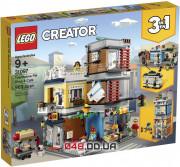 LEGO Creator Зоомагазин и кафе в центре города (31097)