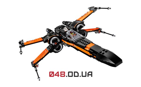 LEGO Star Wars X-Wing истребитель Поу (75102)