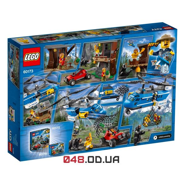 LEGO City Арешт у горах (60173)