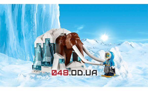 LEGO City Передвижная арктическая база (60195)