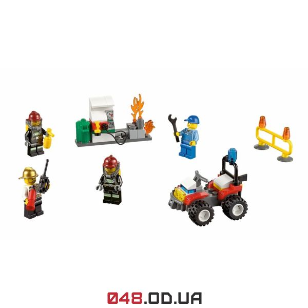 LEGO City Пожарная охрана: стартовый набор (60088)