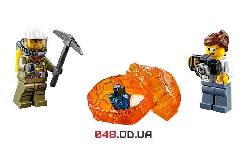 LEGO City Вулкан: стартовый набор (60120)