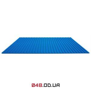 LEGO Classic cтроительные пластина синяя 32х32 пина 255х255 мм (10714)