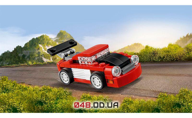LEGO Creator Красная гоночная машина (31055)
