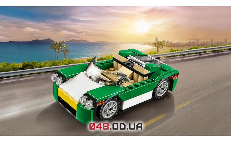 LEGO Creator Зелёный кабриолет (31056)