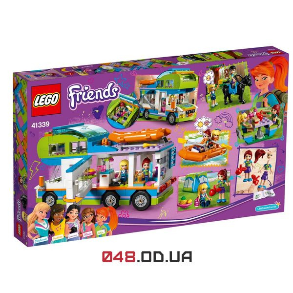 LEGO Friends Дом на колесах Мии (41339)