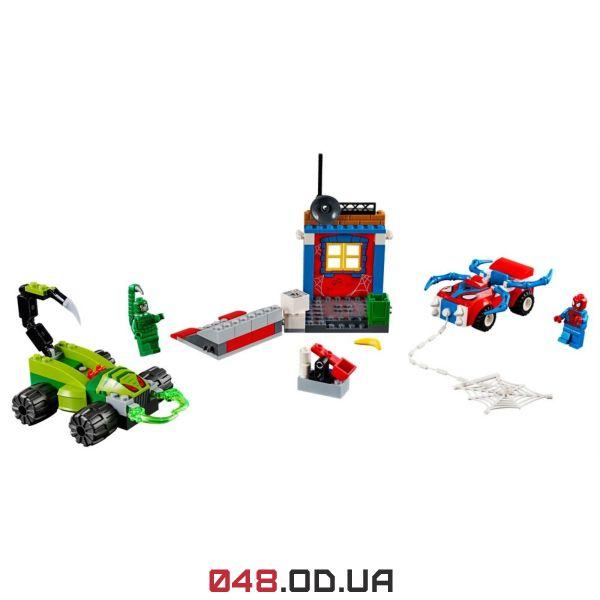 LEGO Juniors Уличный бой Человека-Паука против Скорпиона (10754)