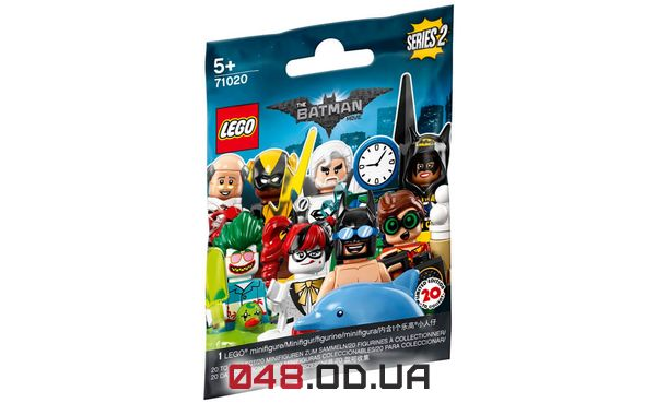 LEGO Minifigures Бэтгёрл в фан-одежде (71020-11)