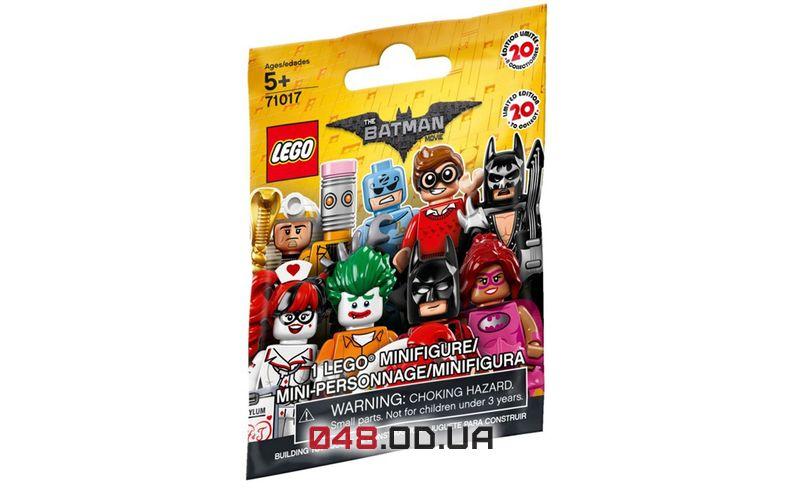 LEGO Minifigures Бэтмен любитель лобстеров (71017-1)