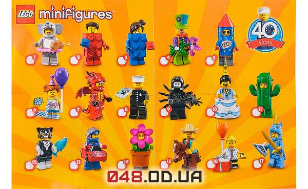 LEGO Minifigures Девушка-кактус (71021-11)