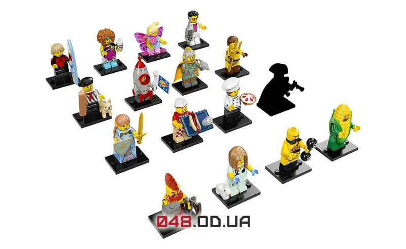 LEGO Minifigures Тайная фигурка (71018-16)