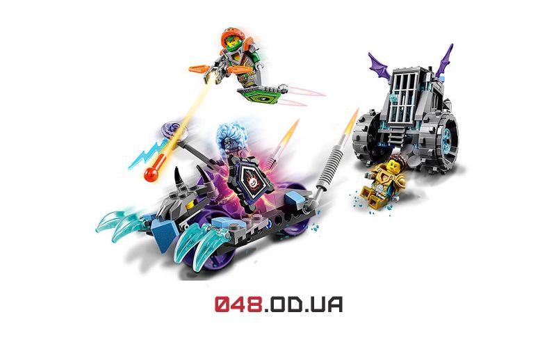 LEGO NEXO KNIGHTS Мобильная тюрьма Руины (70349)