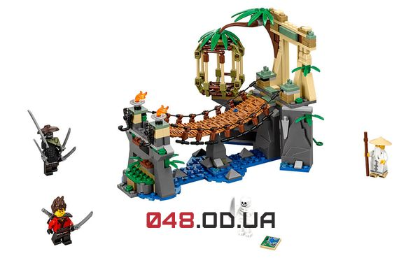 LEGO Ninjago Битва Гармадона и Мастера Ву (70608)