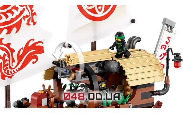 LEGO Ninjago Летающий корабль Мастера Ву (70618)