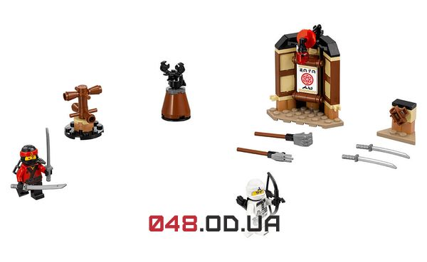 LEGO Ninjago Уроки Мастерства Кружитцу (70606)