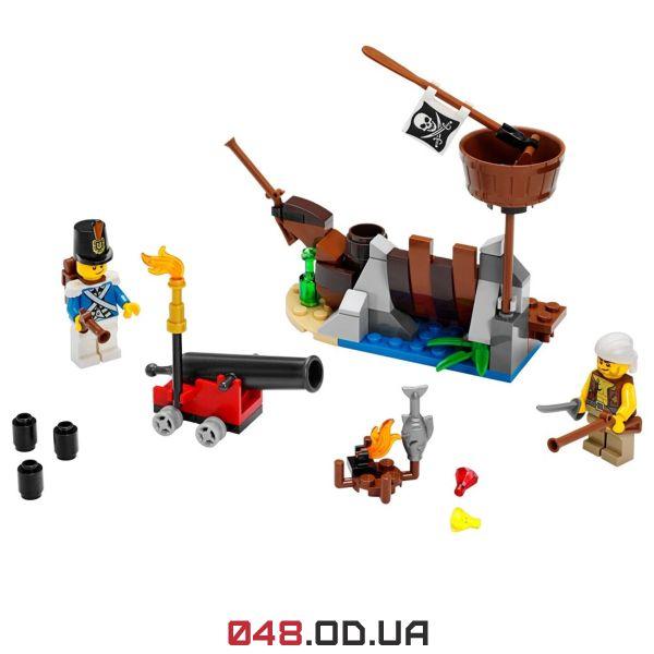 LEGO Pirates Оборона на обломках корабля (70409)