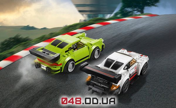 LEGO Speed Champions Porsche 911 RSR и 911 Turbo 3.0 (75888)