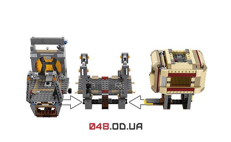 LEGO Star Wars Побег Рафтара (75180)