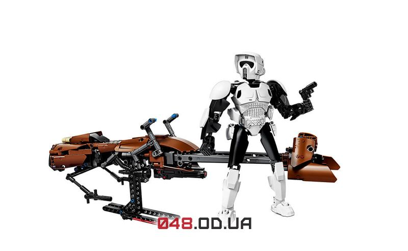 LEGO Star Wars Штурмовик-разведчик на спидере (75532)