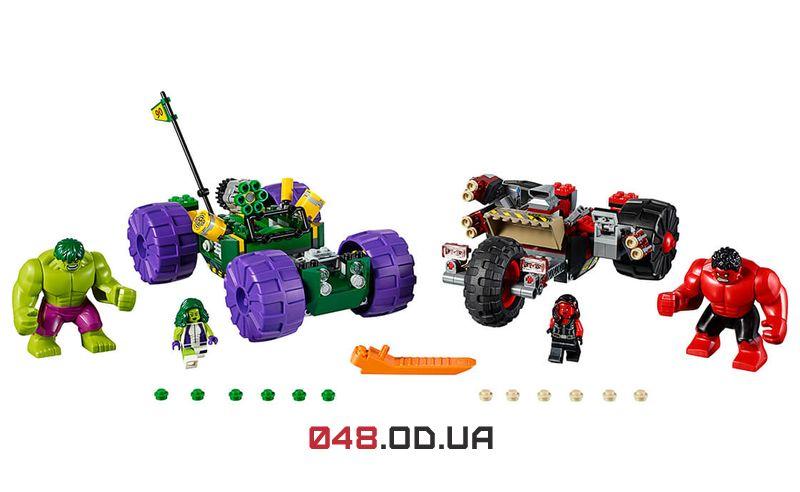 LEGO Super Heroes Халк против Красного Халка (76078)
