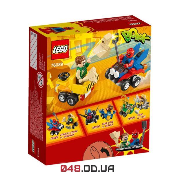 LEGO Super Heroes Mighty Micros Человек-паук против Песочного человека  (76089)