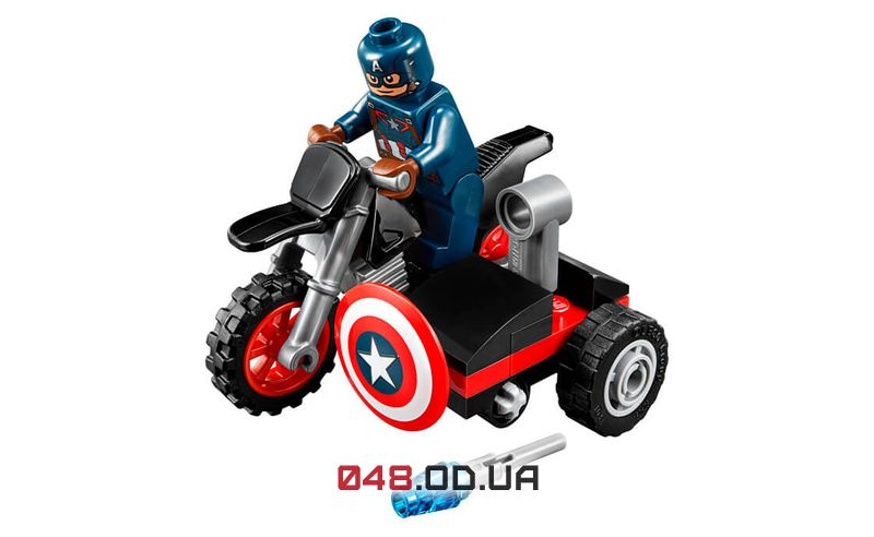 LEGO Super Heroes Мотоцикл Капитана Америки (30447)