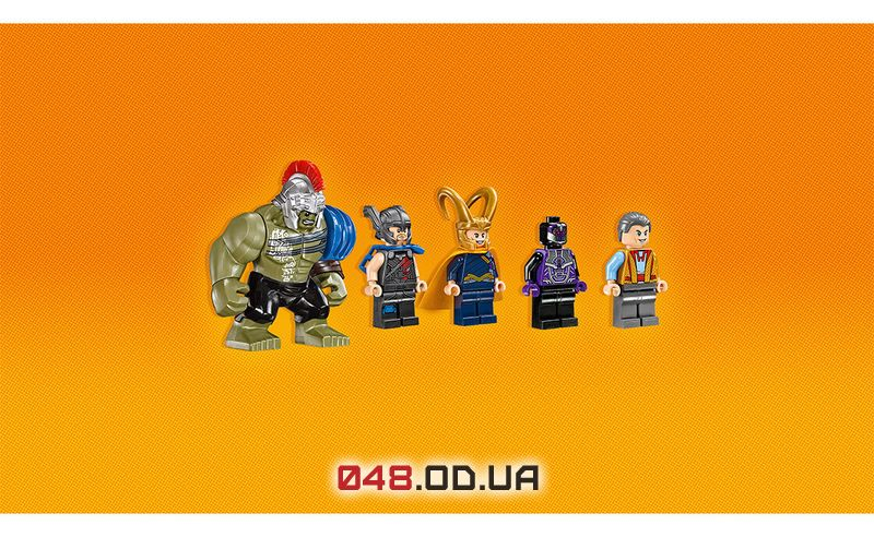LEGO Super Heroes Тор против Халка: Бой на арене (76088)