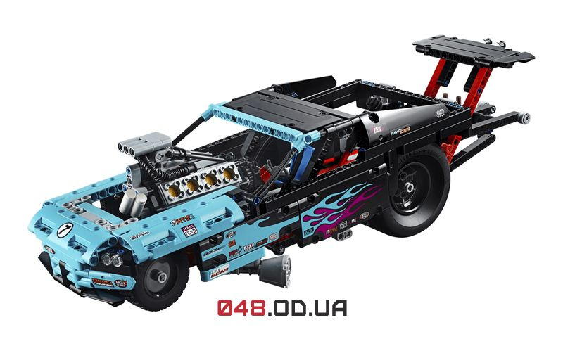 LEGO Technic Драгстер (42050)