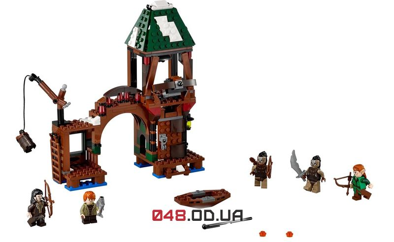 LEGO The Lord of the Rings Атака в Озёрном Городе (79016)