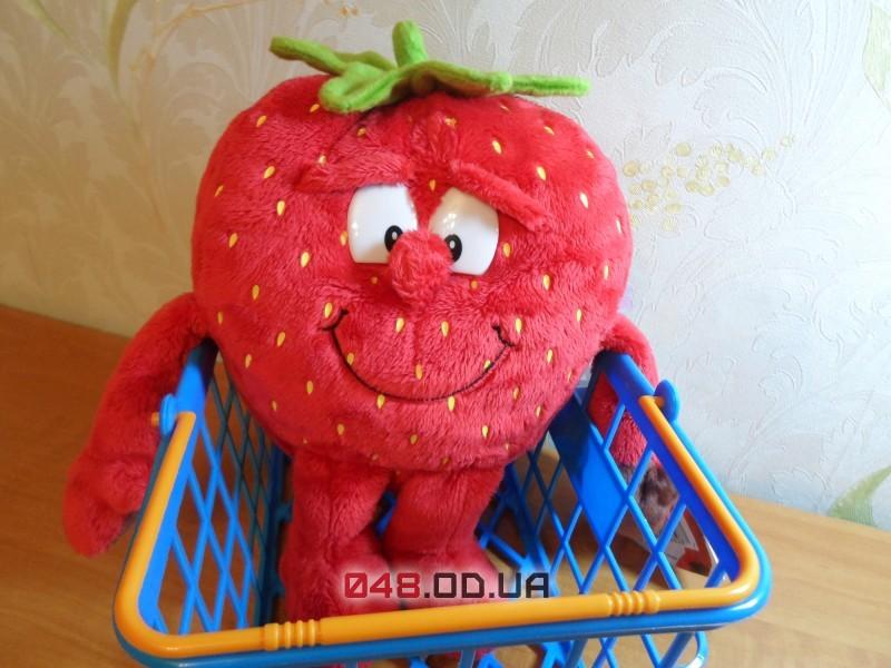 Strawberry, ягода Клубника мягкая игрушка Goodness Gang (коллекция 1)