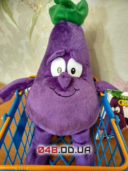 Alphie Aubergine овощ Баклажан мягкая игрушка Goodness Gang (коллекция 1)