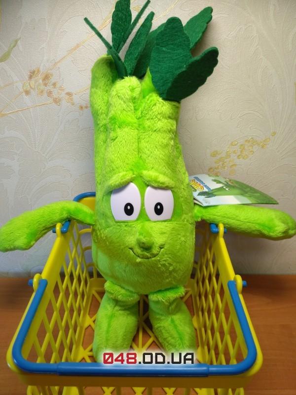 Cedrick the Celery Седрик сельдерей мягкая игушка Goodness Gang (3 коллекция)